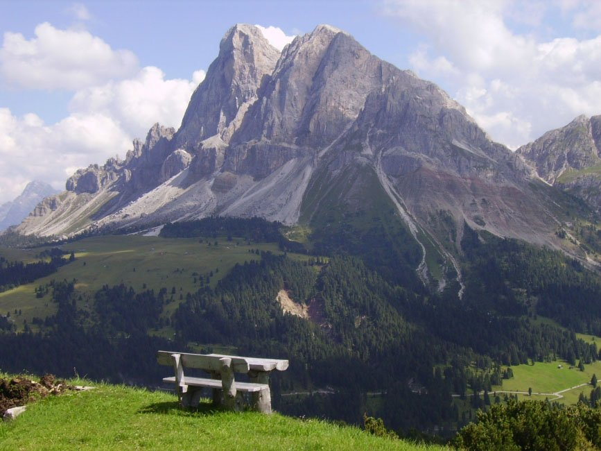 The local mountain of Bressanone – Mount Plose