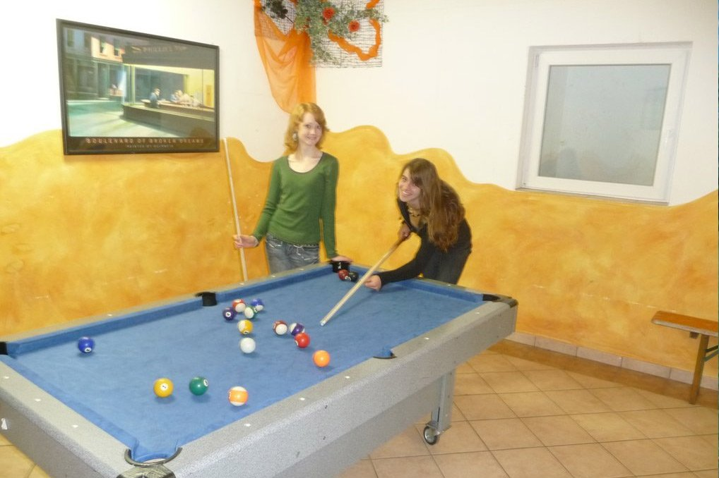 Indoor fun at the youth hotel Sonnenhof